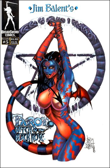 Tarot: Witch of the Black Rose 5-B by BroadSword Comics