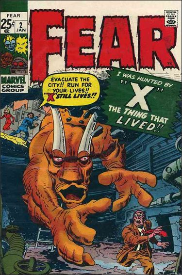 Fear 2-A by Marvel