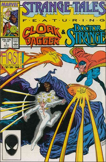 Strange Tales (1987) 1-A by Marvel