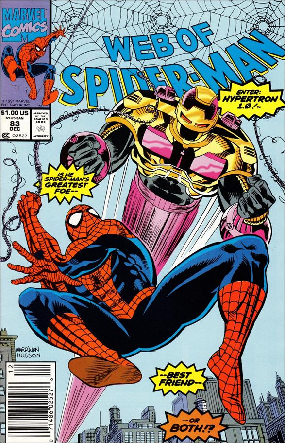 Web of Spider-Man (1985) 83-A by Marvel