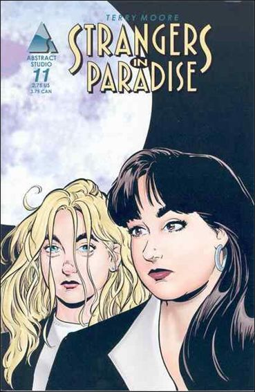 Terry Moore's Strangers in Paradise 11-A by Abstract Studio