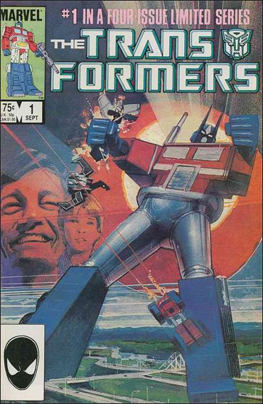 Transformers (1984) 1-A by Marvel