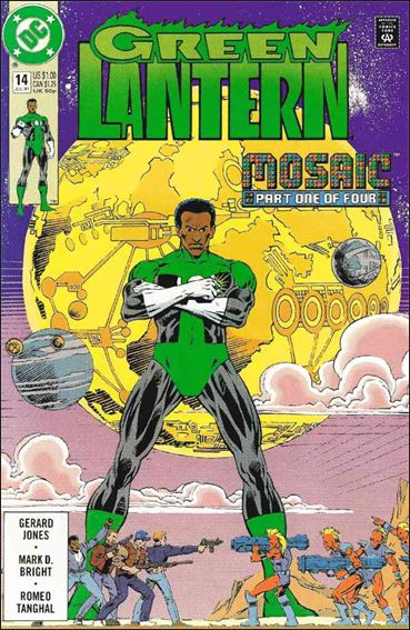 Green Lantern (1990) 14-A by DC