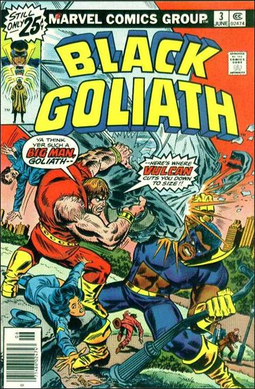 Black Goliath 3-A by Marvel