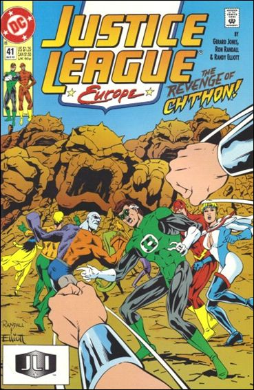 Justice League Europe 41-A by DC
