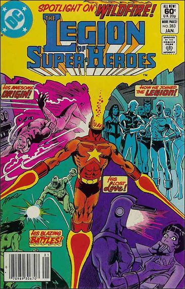 Legion of Super-Heroes (1980) 283-A by DC