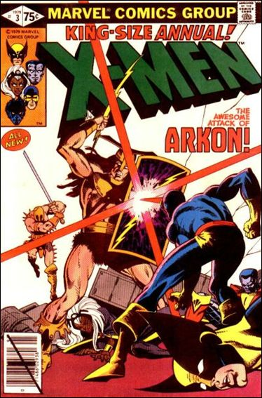 Uncanny X-Men Annual 3-A by Marvel