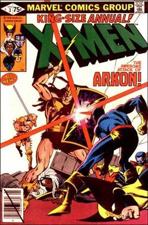 Uncanny X-Men Annual 3-A