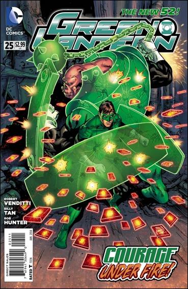 Green Lantern (2011) 25-A by DC