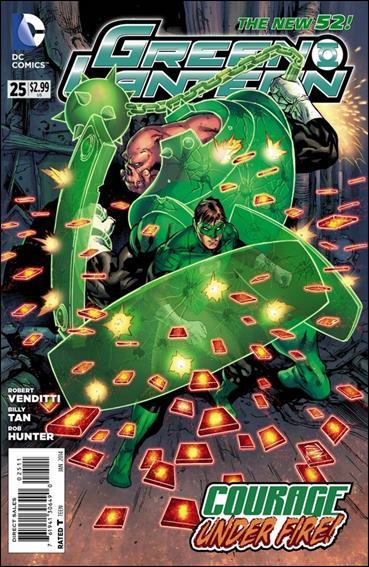 Green Lantern (2011) 25-A by DC
