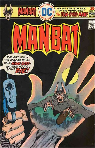 Man-Bat (1975) 2-A by DC