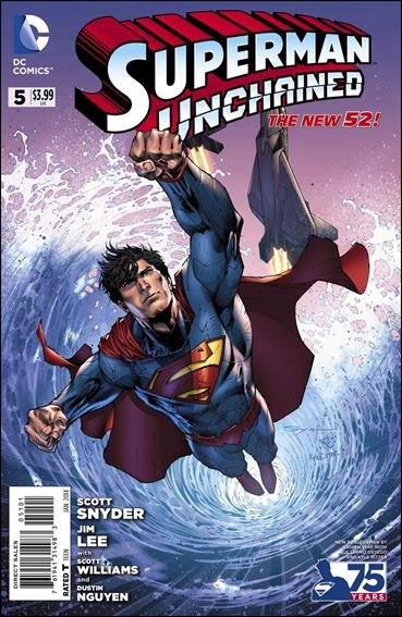 Superman Unchained 5-D by DC
