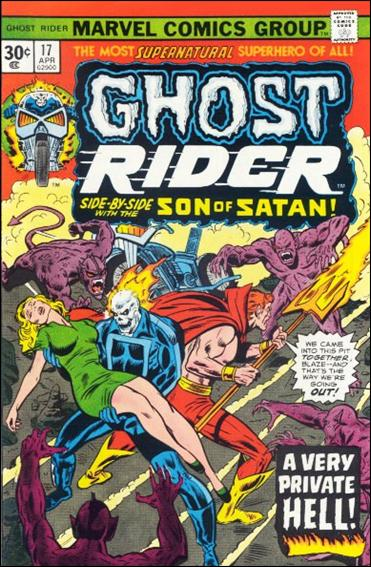Ghost Rider (1973) 17-B by Marvel
