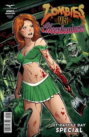 Zombies vs Cheerleaders: St. Patty's Day Special 1-B