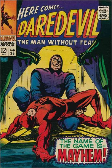 Daredevil (1964) 36-A by Marvel