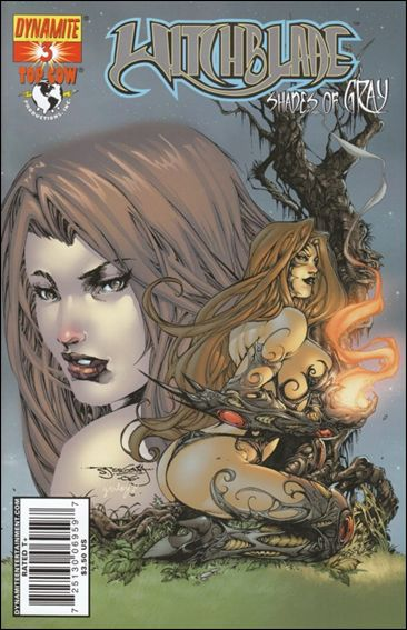 Witchblade: Shades of Gray 3-C by Dynamite Entertainment