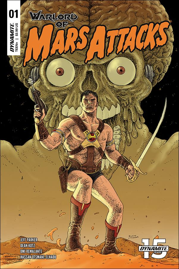 Warlord of Mars Attacks 1-C by Dynamite Entertainment