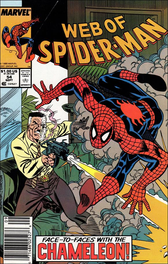 Web of Spider-Man (1985) 54-A by Marvel