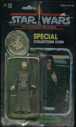 """Star Wars 3 3/4"""" Basic Action Figures (Vintage) The Emperor (PotF) by Kenner"""