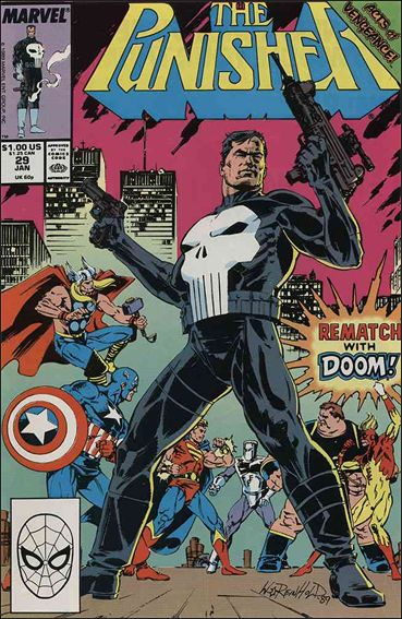 Punisher (1987) 29-A by Marvel