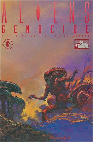 Aliens: Genocide 4-A by Dark Horse