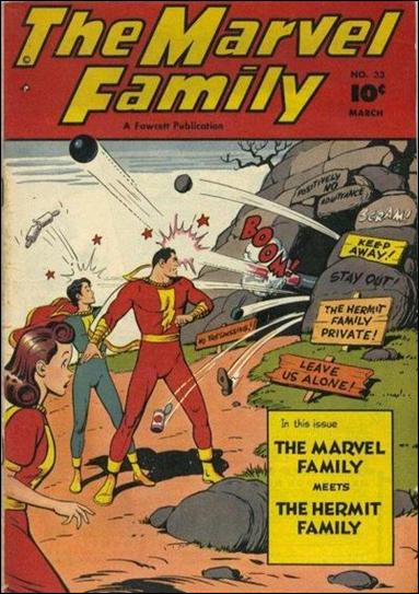 Marvel Family 33-A by Fawcett