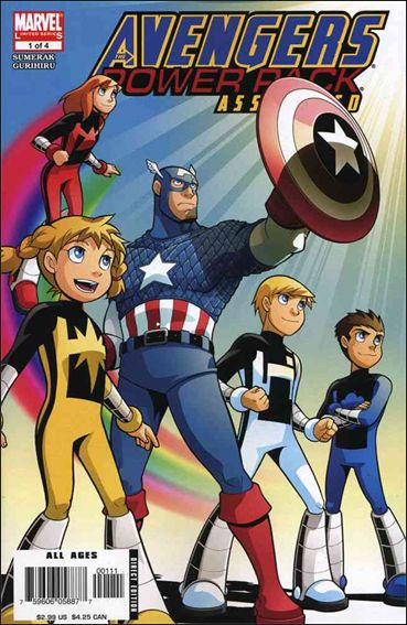 Avengers and Power Pack Assemble! 1-A by Marvel