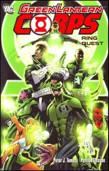 Green Lantern Corps: Ring Quest 1-A by DC