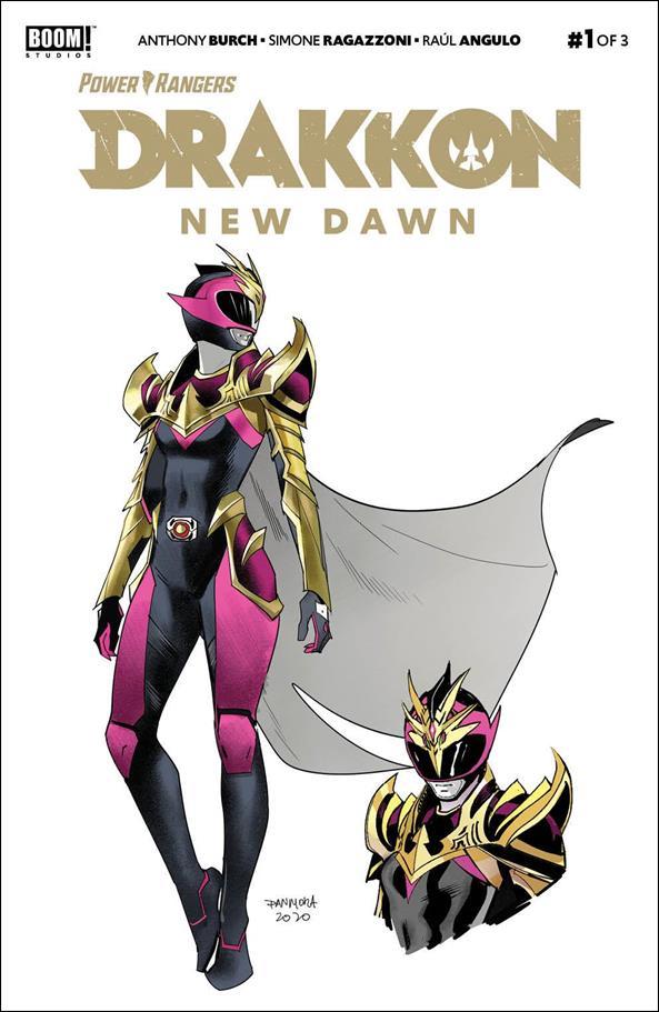 Power Rangers: Drakkon - New Dawn 1-E by Boom! Studios