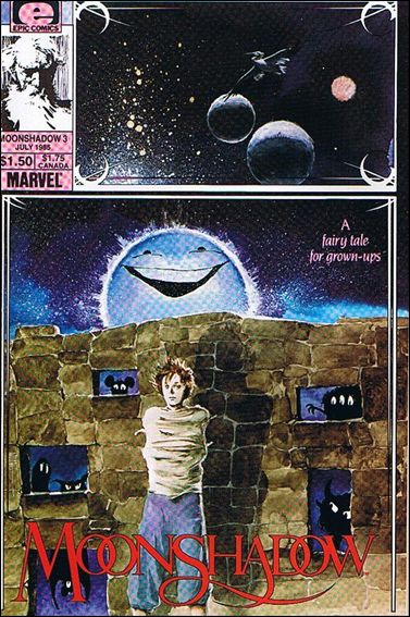 Moonshadow (1985) 3-A by Epic
