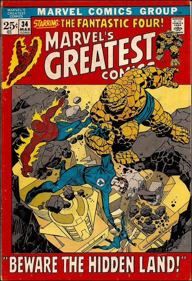 Marvel's Greatest Comics 34-A by Marvel