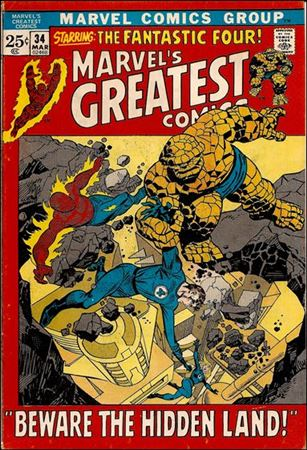 Marvel's Greatest Comics 34-A