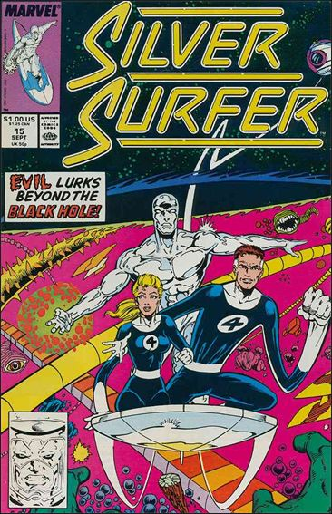 Silver Surfer (1987) 15-A by Marvel