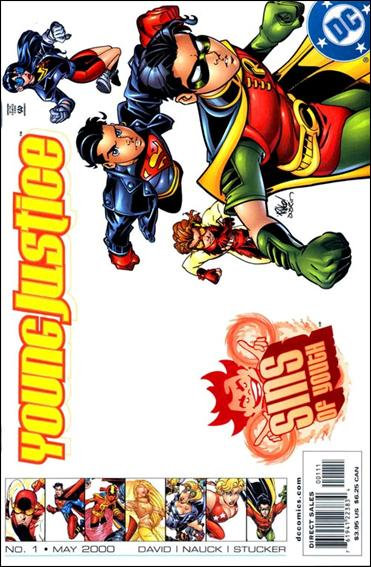 Young Justice: Sins of Youth 1-A by DC