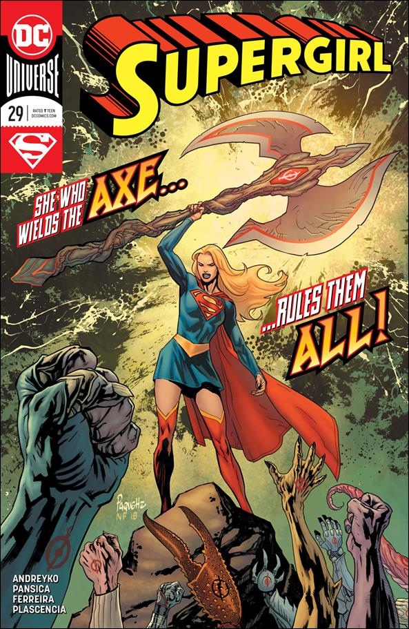 Supergirl (2016) 29-A by DC