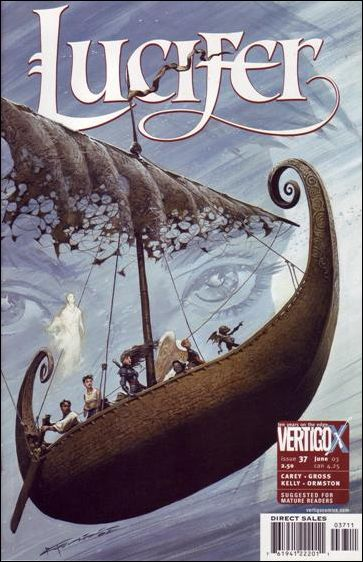 Lucifer (2000) 37-A by Vertigo