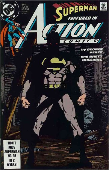Action Comics (1938) 644-A by DC
