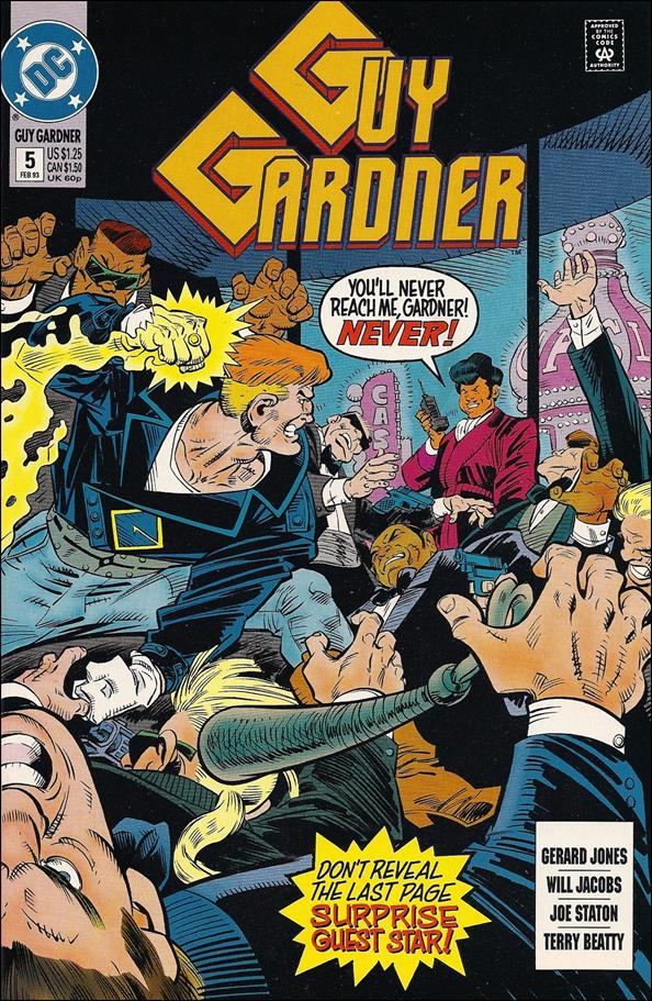 Guy Gardner 5-A by DC
