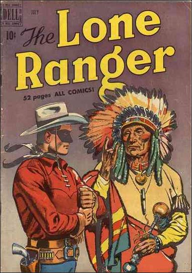 Lone Ranger (1948) 25-A by Dell