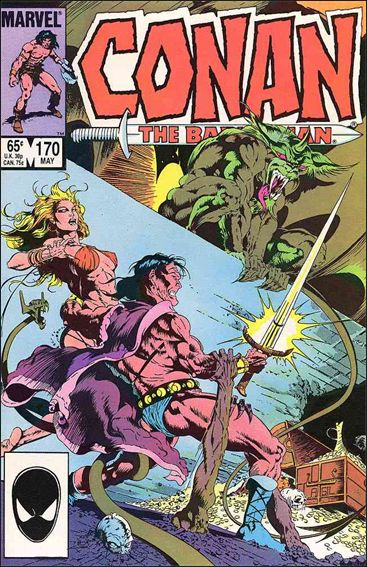 Conan the Barbarian (1970) 170-A by Marvel