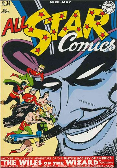 All Star Comics (1940) 34-A by DC