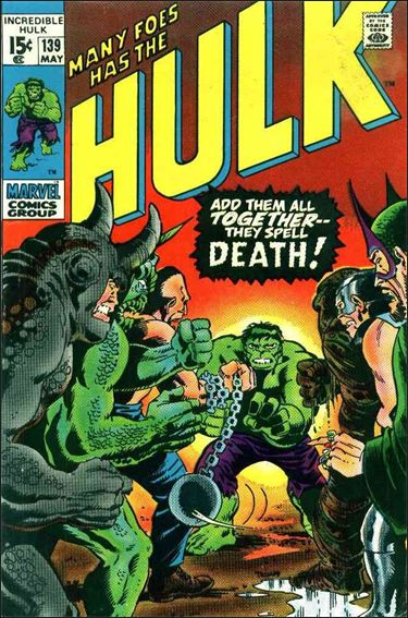 Incredible Hulk (1968) 139-A by Marvel