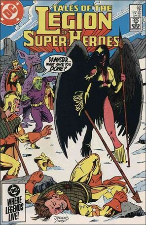 Tales of the Legion of Super-Heroes 322-A