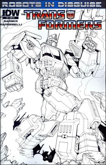 Transformers: Robots in Disguise 6-C by IDW