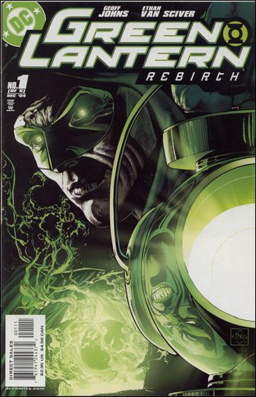 Green Lantern: Rebirth 1-A by DC
