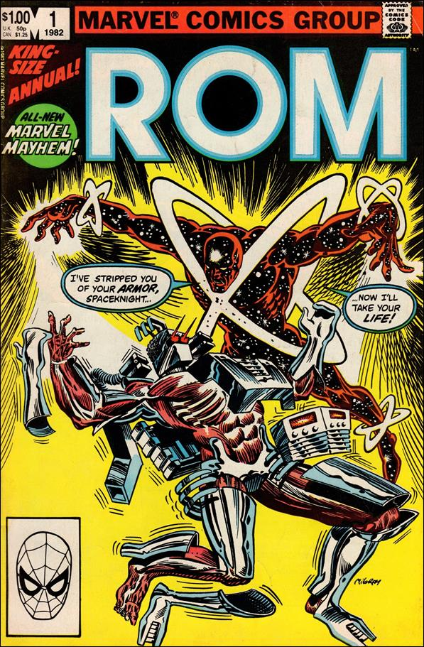 ROM Annual 1-A by Marvel