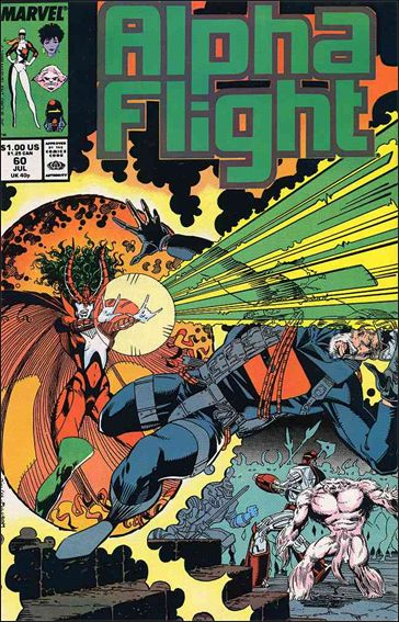 Alpha Flight (1983) 60-A by Marvel