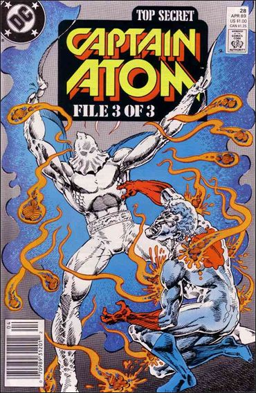 Captain Atom (1987) 28-A by DC