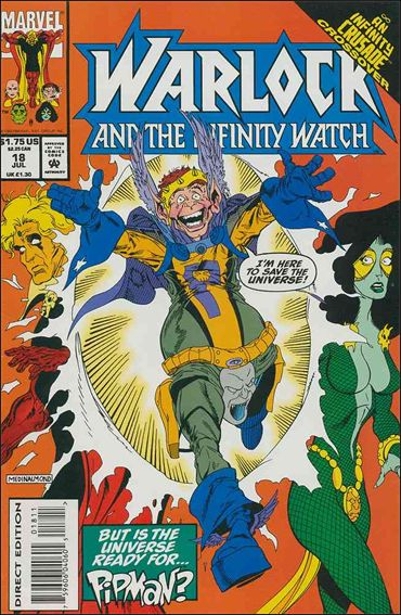 Warlock and the Infinity Watch 18-A by Marvel