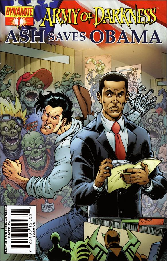 Army of Darkness: Ash Saves Obama 1-A by Dynamite Entertainment